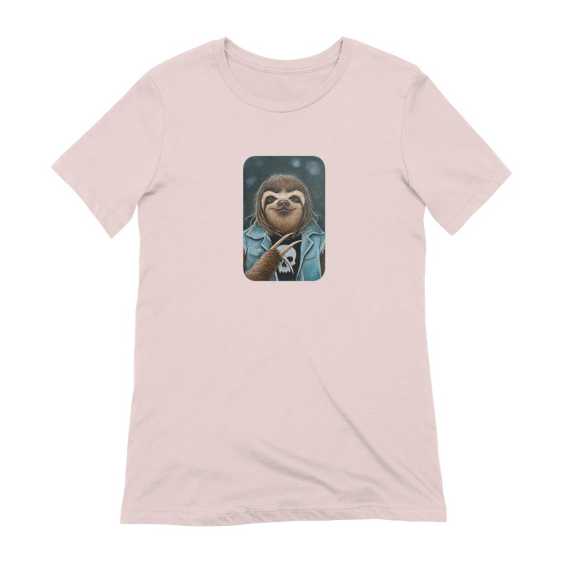 Metal Sloth Women's T-Shirt by Ken Keirns