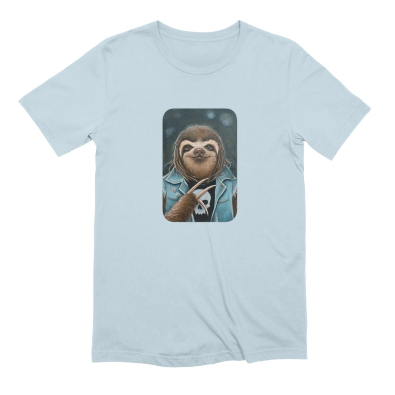 Metal Sloth Men's Extra Soft T-Shirt by Ken Keirns