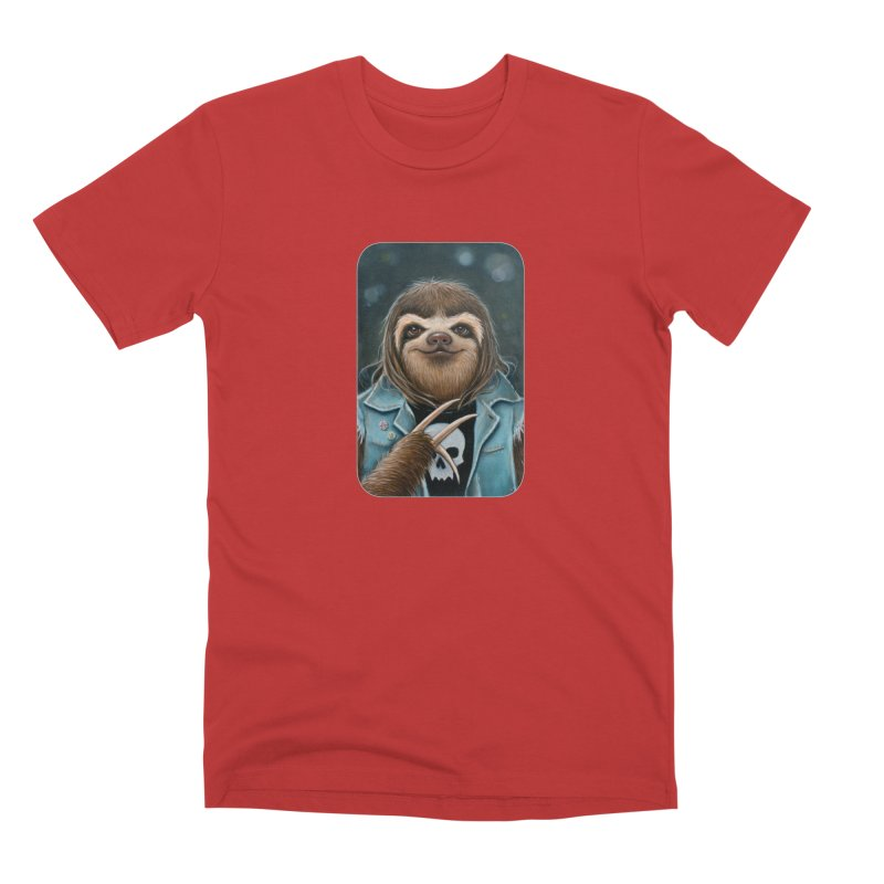 Metal Sloth Men's Premium T-Shirt by Ken Keirns