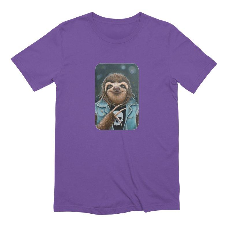 Metal Sloth Men's Extra Soft T-Shirt by Ken Keirns