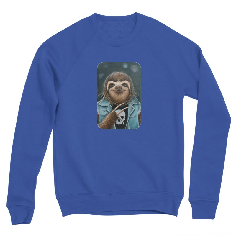 Metal Sloth Women's Sweatshirt by Ken Keirns