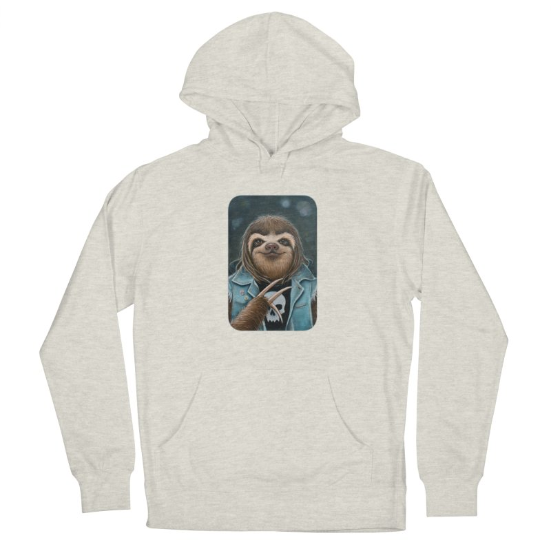 Metal Sloth Men's French Terry Pullover Hoody by Ken Keirns