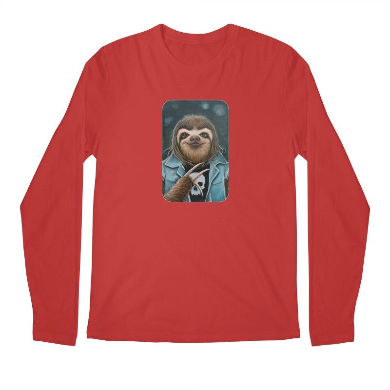 Metal Sloth Men's Regular Longsleeve T-Shirt by Ken Keirns