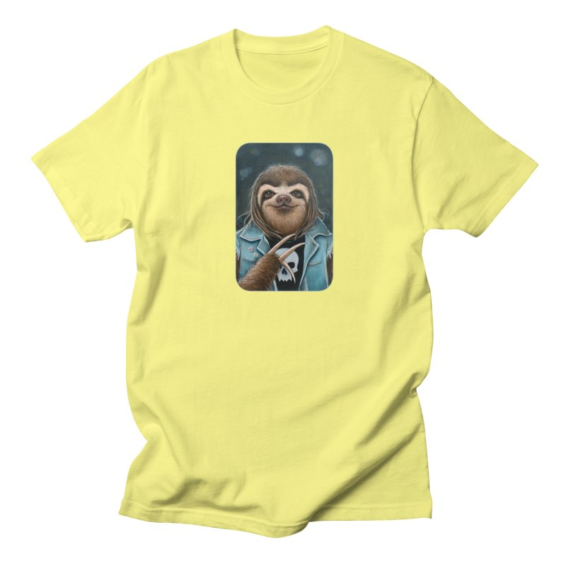 Metal Sloth Women's Regular Unisex T-Shirt by Ken Keirns