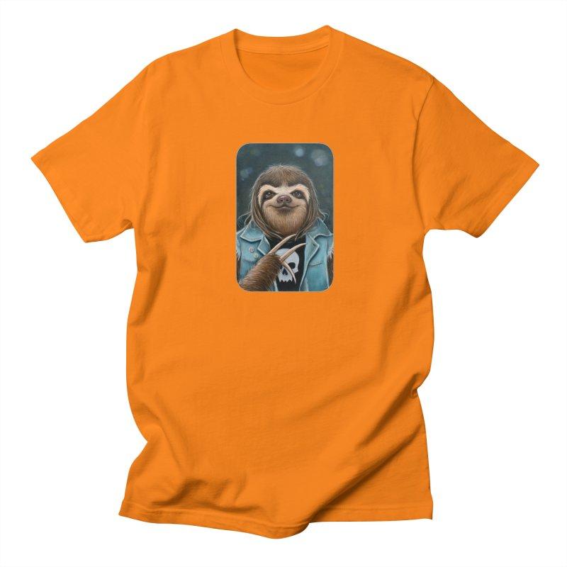 Metal Sloth Men's Regular T-Shirt by Ken Keirns