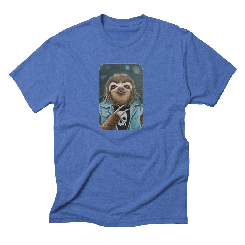 Metal Sloth Men's T-Shirt by Ken Keirns