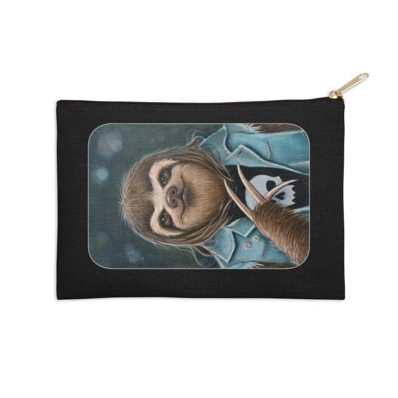 Metal Sloth Accessories Zip Pouch by Ken Keirns
