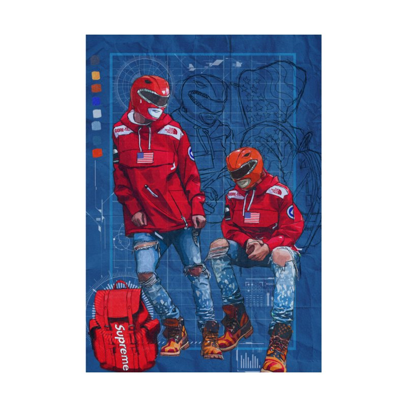 Power Rangers X Supreme The North Face