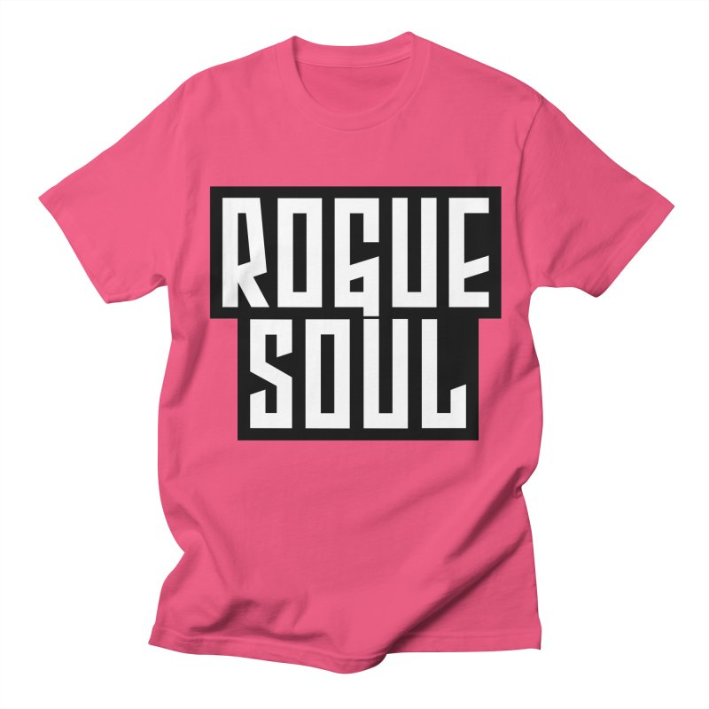 Rogue Soul Original Logo Men's Regular T-Shirt by kense's Shop