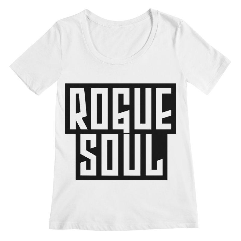 Rogue Soul Original Logo Women's Regular Scoop Neck by kense's Shop
