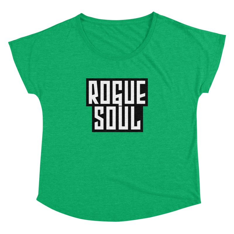Rogue Soul Original Logo Women's Dolman Scoop Neck by kense's Shop