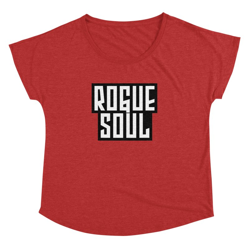 Rogue Soul Original Logo Women's Dolman Scoop Neck by kense's Shop
