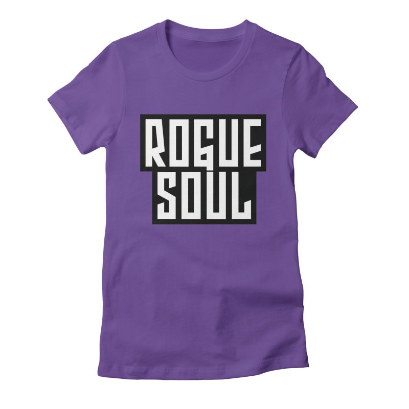 Rogue Soul Original Logo Women's Fitted T-Shirt by kense's Shop