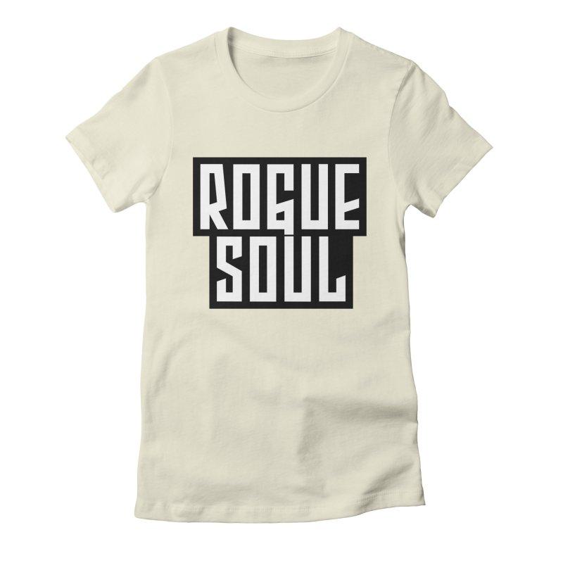 Rogue Soul Original Logo Women's Fitted T-Shirt by kense's Shop