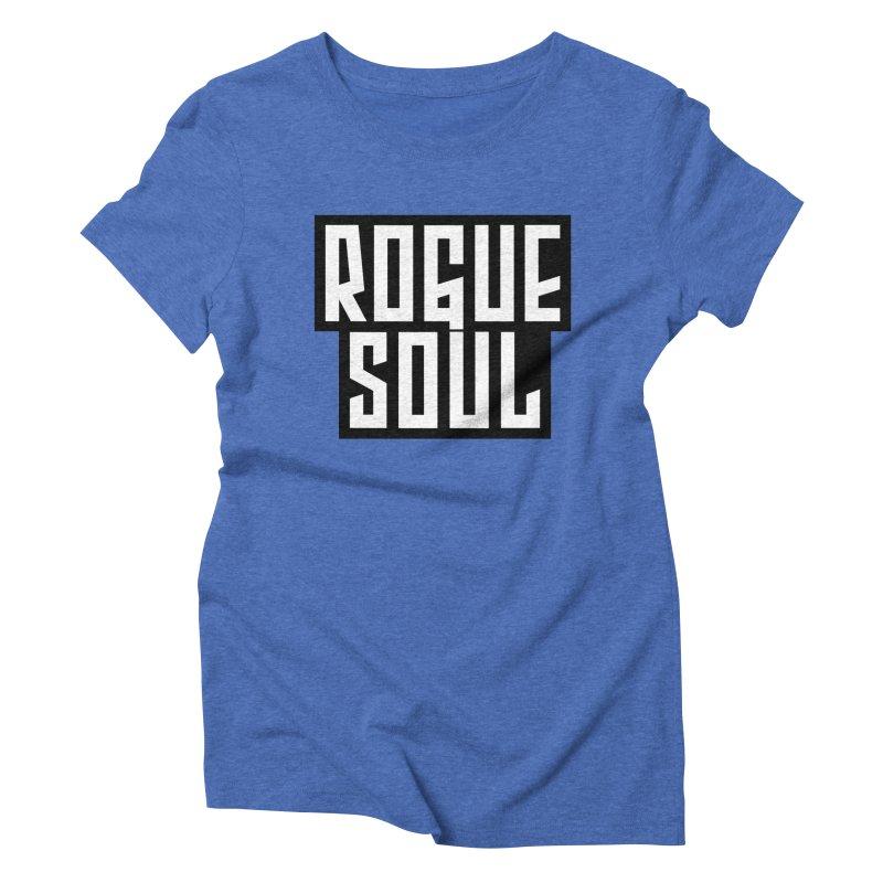 Rogue Soul Original Logo Women's Triblend T-Shirt by kense's Shop