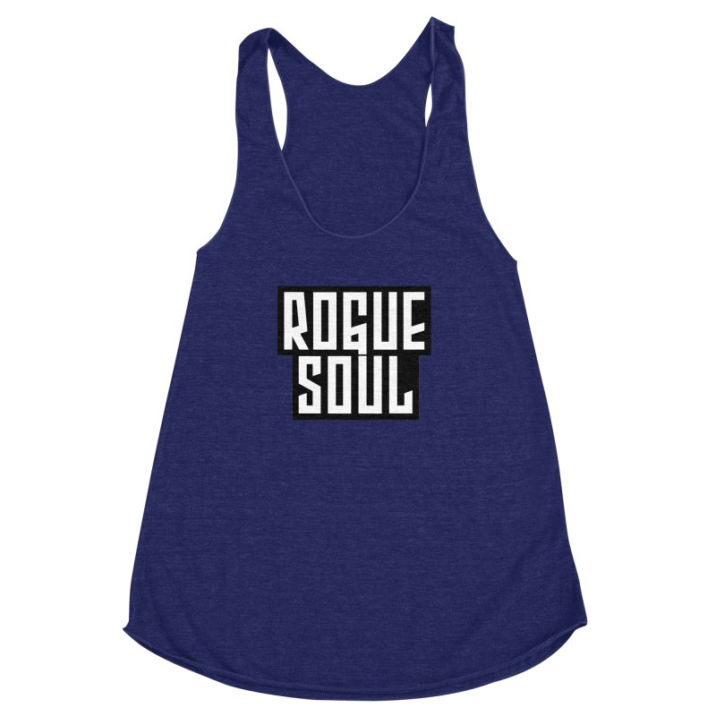 Rogue Soul Original Logo Women's Racerback Triblend Tank by kense's Shop