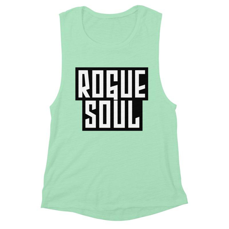 Rogue Soul Original Logo Women's Muscle Tank by kense's Shop