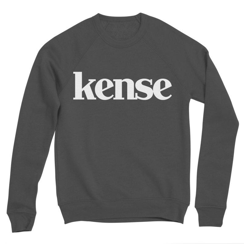 kense Original Logo (White) Women's Sponge Fleece Sweatshirt by kense's Shop