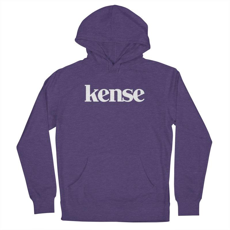 kense Original Logo (White) Women's Pullover Hoody by kense's Shop