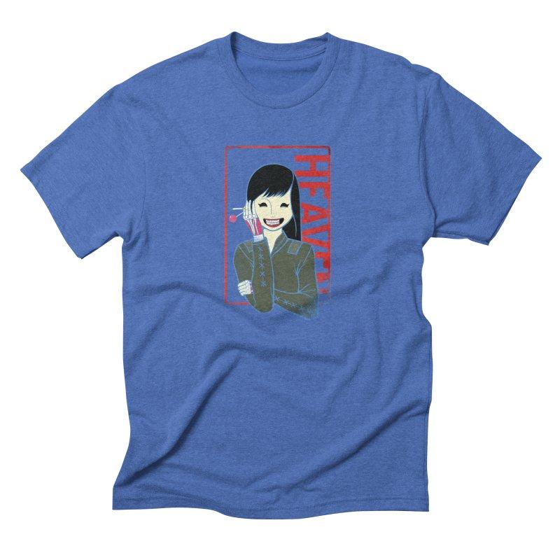 Stamp of Heaven Men's Triblend T-Shirt by kentackett's Artist Shop