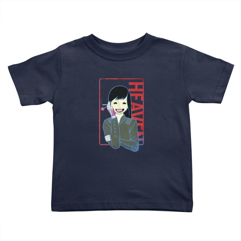 Stamp of Heaven Kids Toddler T-Shirt by kentackett's Artist Shop