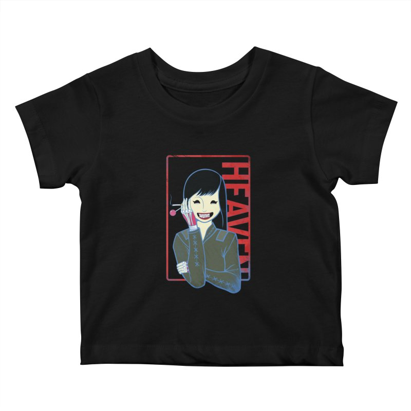 Stamp of Heaven Kids Baby T-Shirt by kentackett's Artist Shop