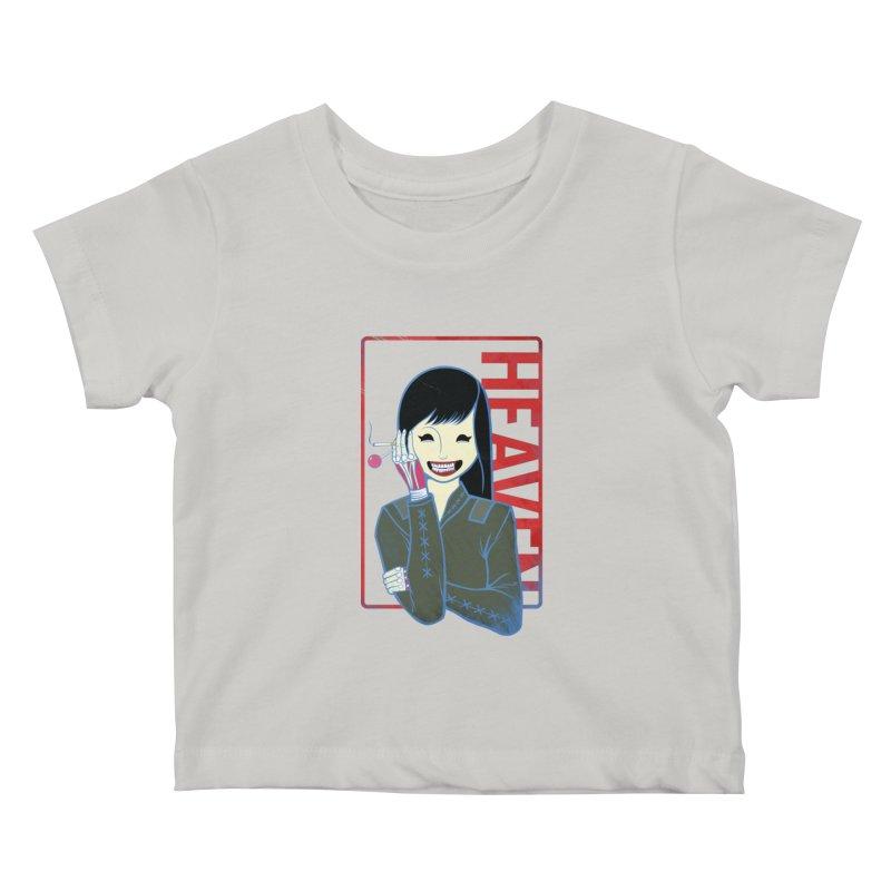 Stamp of Heaven Kids Baby T-Shirt by kentackett's Artist Shop