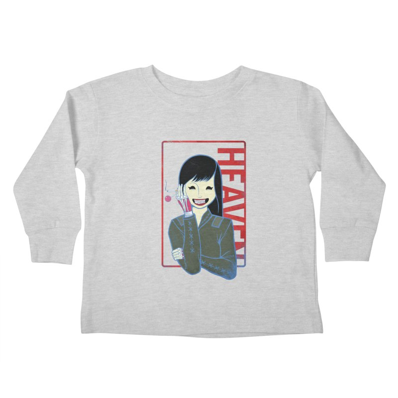 Stamp of Heaven Kids Toddler Longsleeve T-Shirt by kentackett's Artist Shop