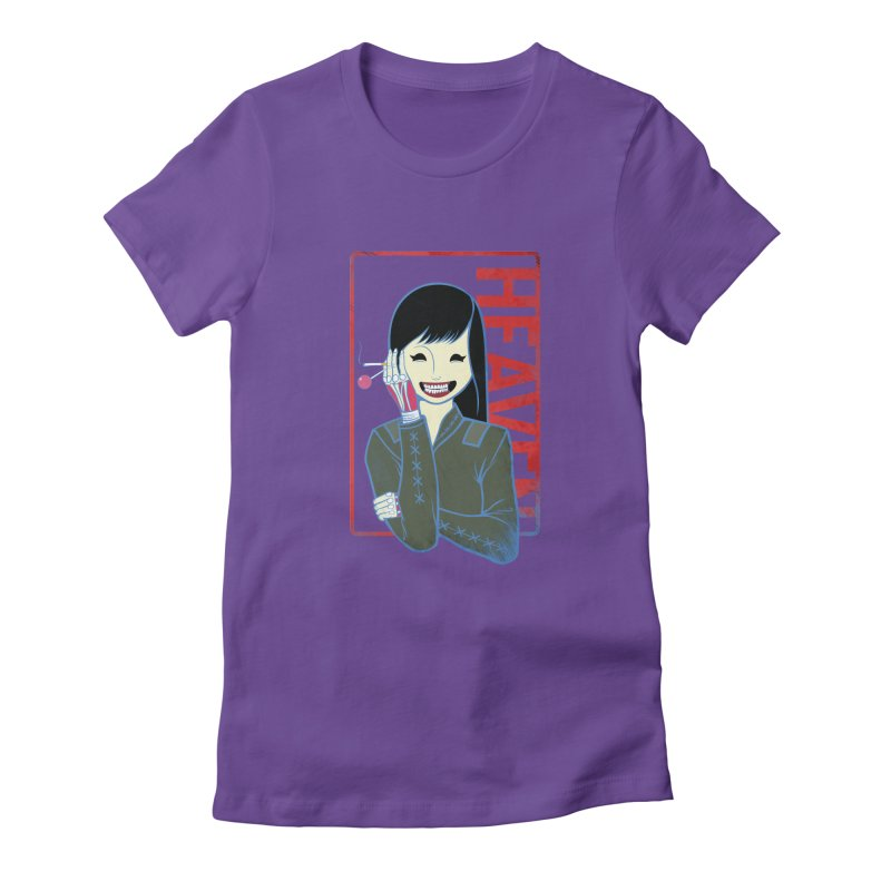 Stamp of Heaven Women's Fitted T-Shirt by kentackett's Artist Shop