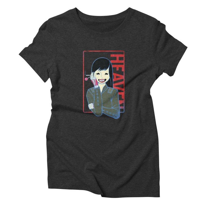 Stamp of Heaven Women's Triblend T-Shirt by kentackett's Artist Shop