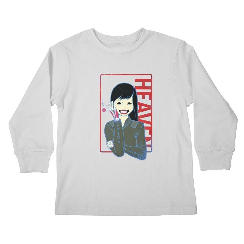Stamp of Heaven Kids Longsleeve T-Shirt by kentackett's Artist Shop