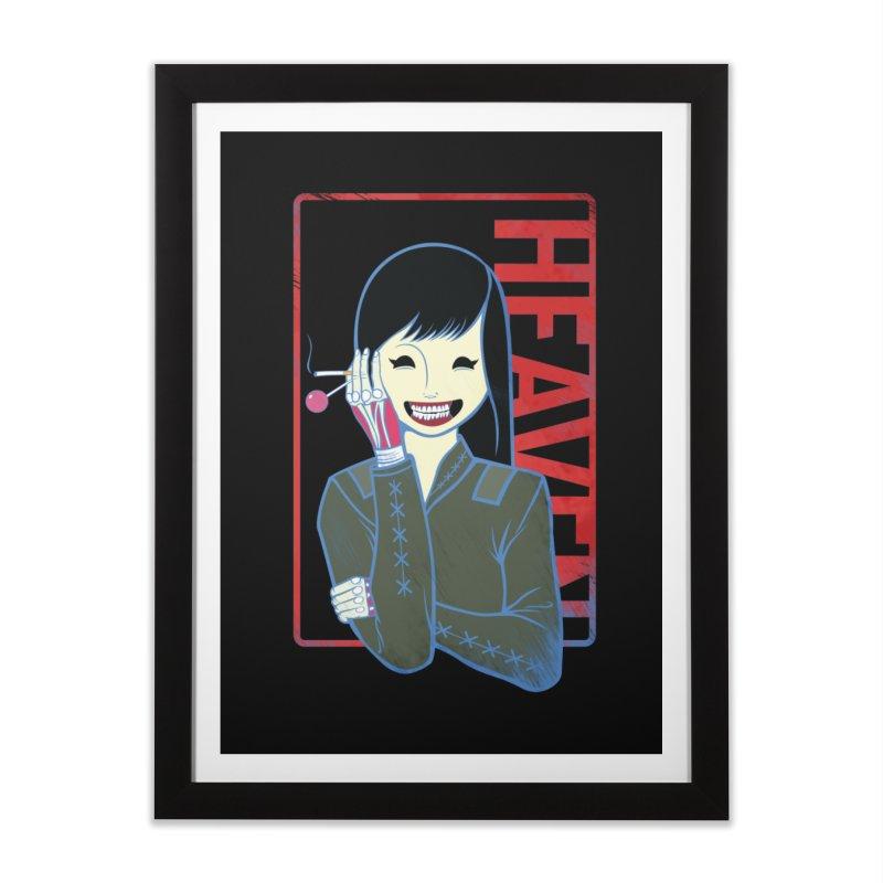 Stamp of Heaven Home Framed Fine Art Print by kentackett's Artist Shop