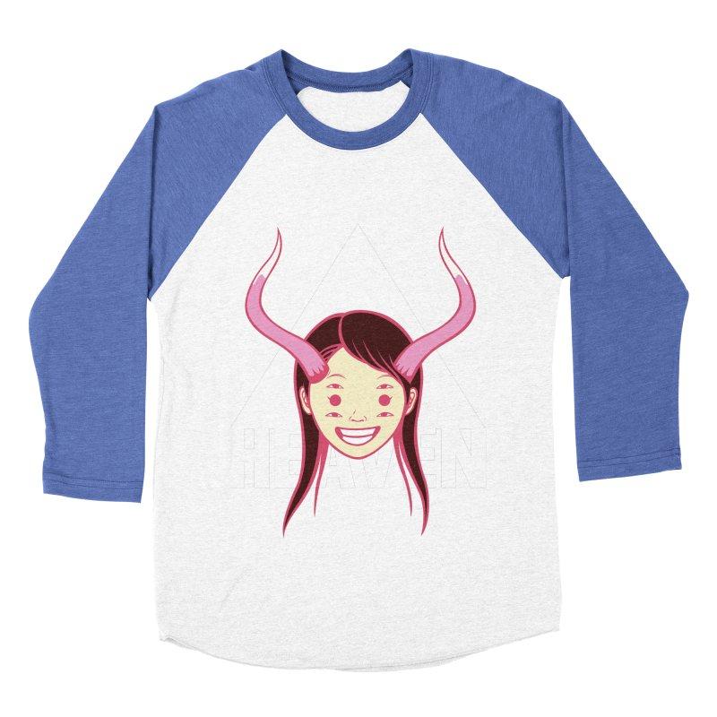 Heaven Men's Baseball Triblend T-Shirt by kentackett's Artist Shop