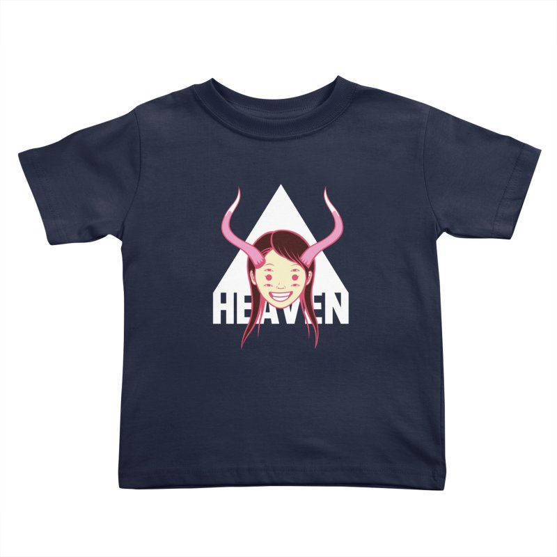 Heaven Kids Toddler T-Shirt by kentackett's Artist Shop