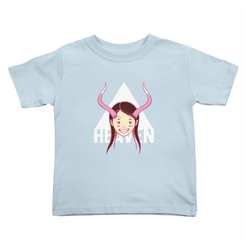 Heaven Kids Toddler T-Shirt by kentackett's Artist Shop