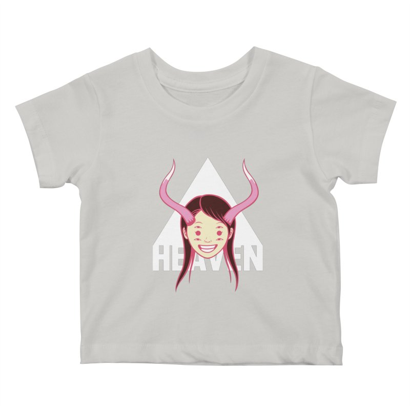 Heaven Kids Baby T-Shirt by kentackett's Artist Shop