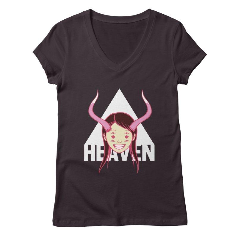 Heaven Women's V-Neck by kentackett's Artist Shop