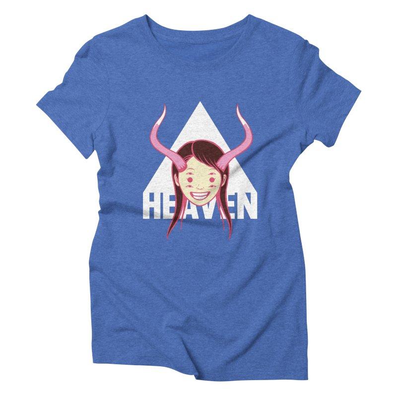 Heaven Women's Triblend T-shirt by kentackett's Artist Shop