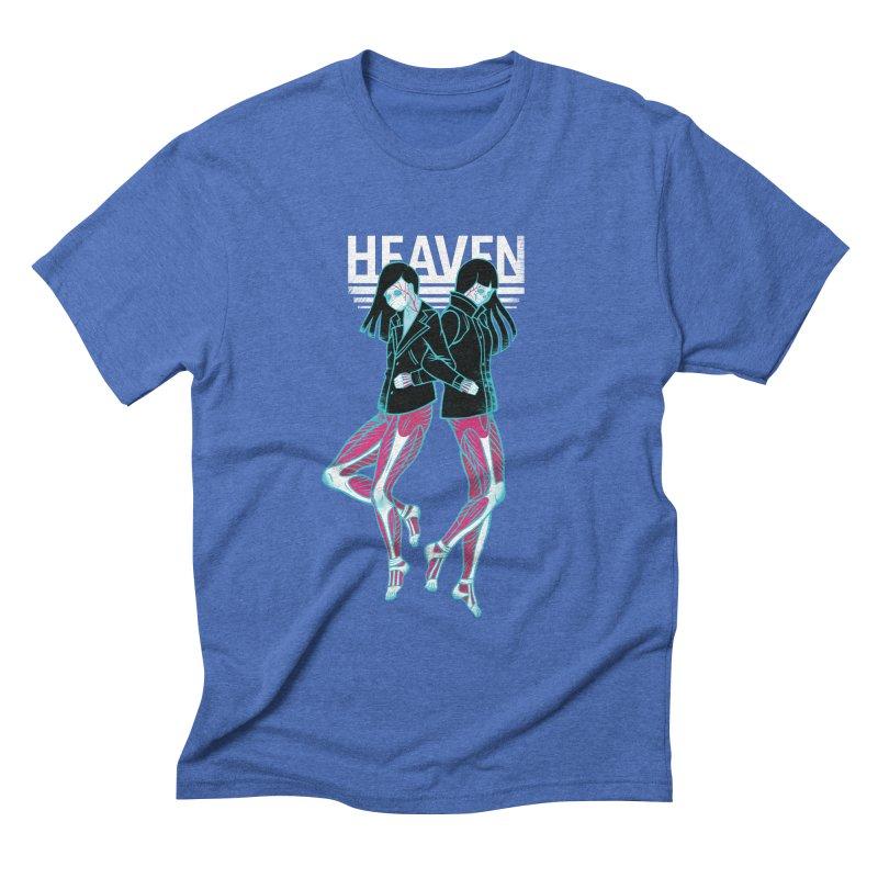 Closer to Heaven-Sisters Men's Triblend T-Shirt by kentackett's Artist Shop