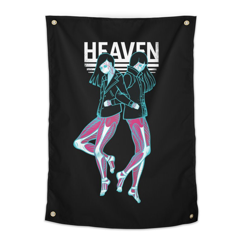 Closer to Heaven-Sisters Home Tapestry by kentackett's Artist Shop