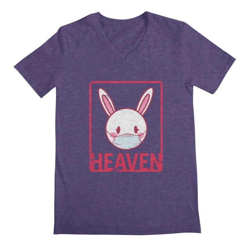 Closer to Heaven-Safety Men's V-Neck by kentackett's Artist Shop