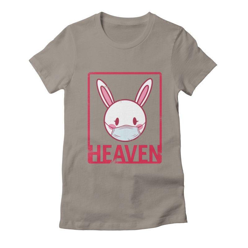 Closer to Heaven-Safety Women's Fitted T-Shirt by kentackett's Artist Shop