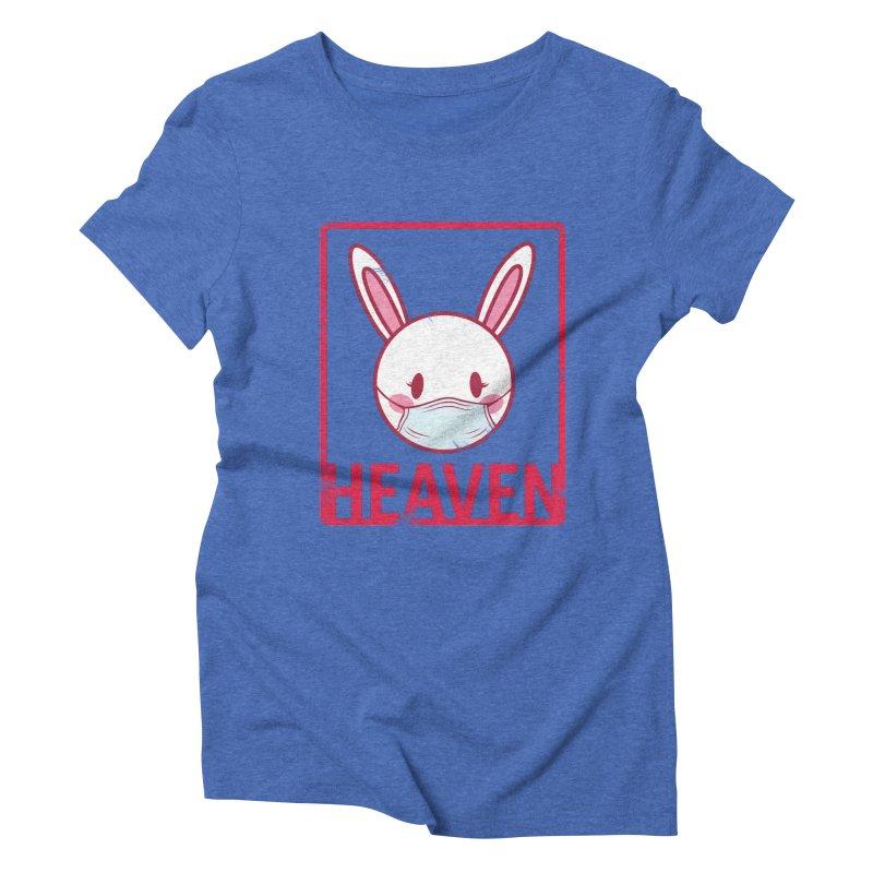 Closer to Heaven-Safety Women's Triblend T-Shirt by kentackett's Artist Shop