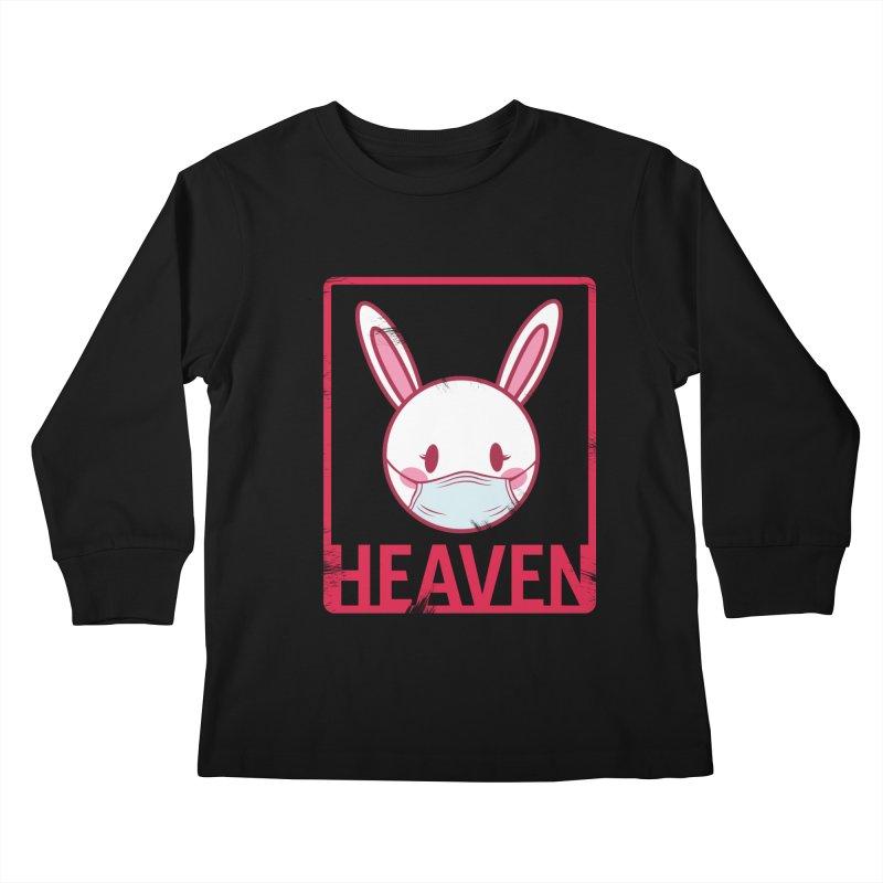 Closer to Heaven-Safety Kids Longsleeve T-Shirt by kentackett's Artist Shop