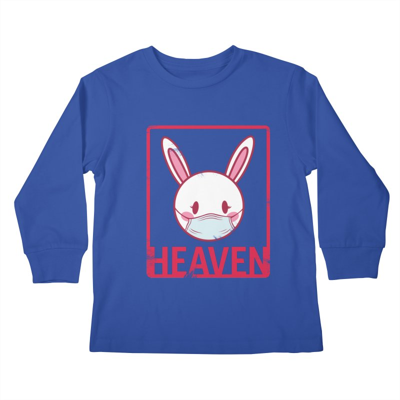 Closer to Heaven-Safety Kids Longsleeve T-Shirt by kentackett's Artist Shop