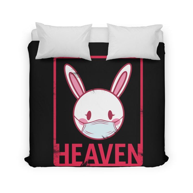 Closer to Heaven-Safety Home Duvet by kentackett's Artist Shop