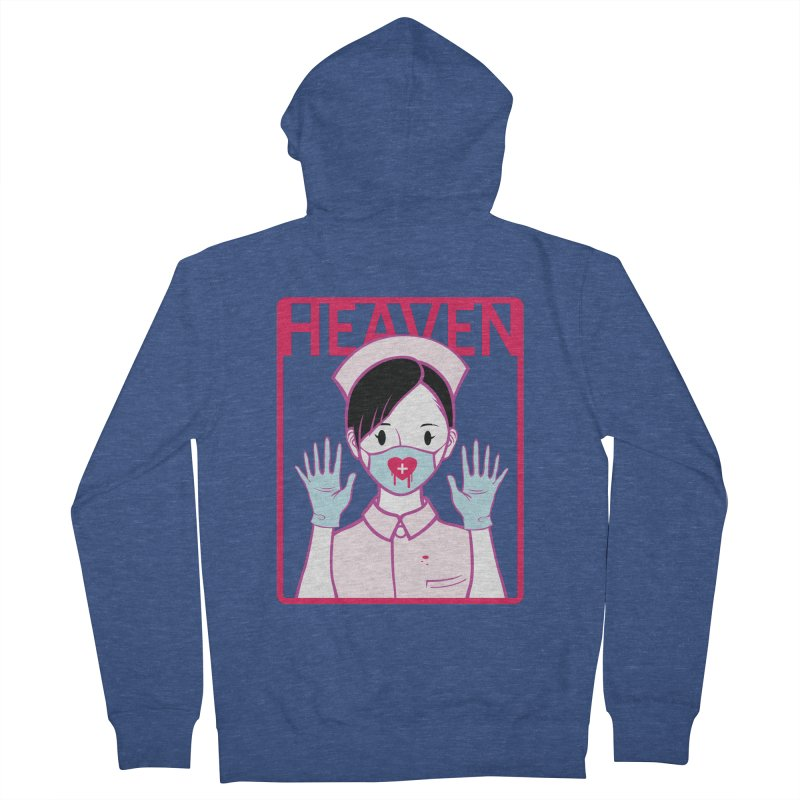 Closer to Heaven-Aide Women's Zip-Up Hoody by kentackett's Artist Shop