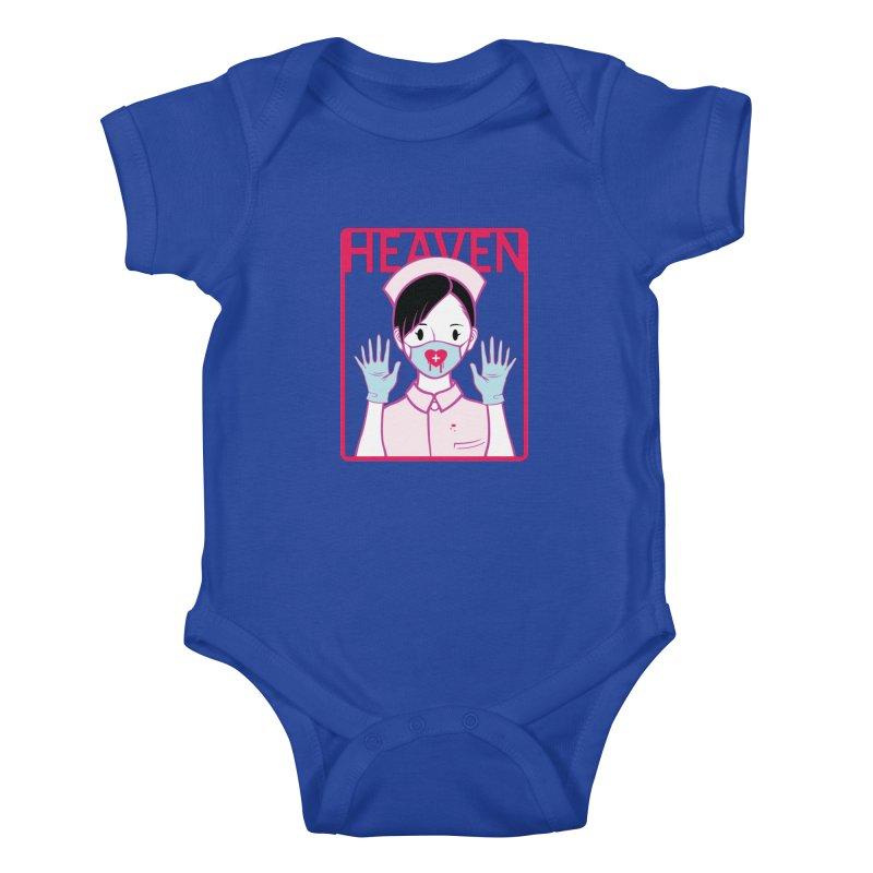 Closer to Heaven-Aide Kids Baby Bodysuit by kentackett's Artist Shop
