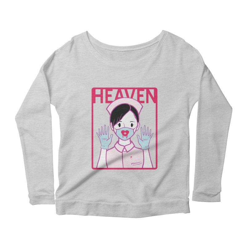 Closer to Heaven-Aide Women's Longsleeve Scoopneck  by kentackett's Artist Shop