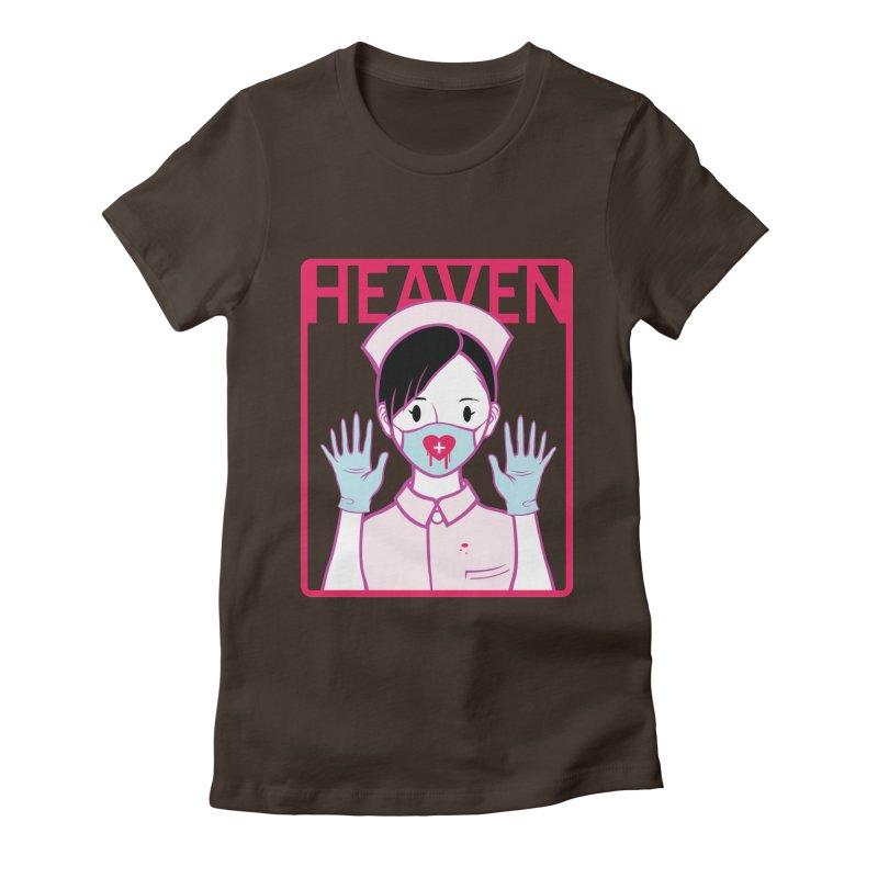 Closer to Heaven-Aide Women's Fitted T-Shirt by kentackett's Artist Shop